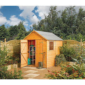 Rowlinson 8 x 6 ft Modular Apex Shed