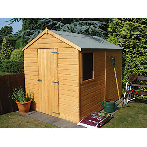 Shire 8 x 6 ft Durham Tongue & Groove Shed