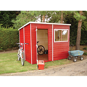 Shire 8 x 6 ft Tongue & Groove Shed