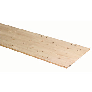 Wickes General Purpose Timberboard - 28mm x 600mm x 2050mm