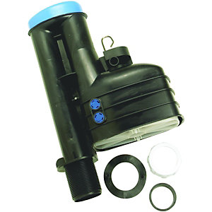 Fluidmaster WC Replacement Cistern Syphon with Dual Flush