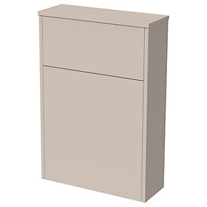 Wickes Tallinn Cashmere Freestanding Toilet Unit - 870 x 600mm