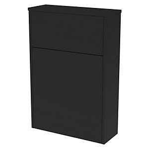 Wickes Tallinn Graphite Freestanding Toilet Unit - 870 x 600mm