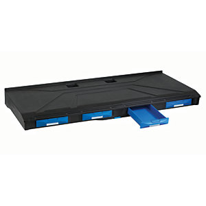 Blucave Storage System Shelf with  4 Single Drawers