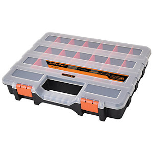 Tactix 21 Compartment Tool Organiser - 15in