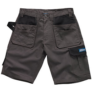 Tough Grit Holster Work Short - Charcoal