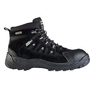 Tough Grit Marine Safety Boots - Black