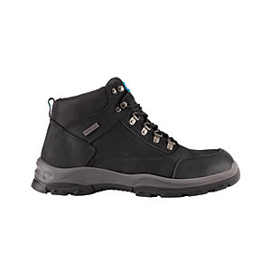 Tough Grit Teak Safety Boot - Black