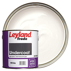Leyland Trade Undercoat Paint - White 2.5L