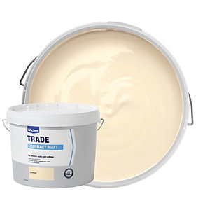 Wickes Contract Matt Emulsion Paint - Almond 10L