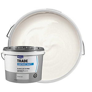 Wickes Contract Matt Emulsion Paint - Classic Grey 10L