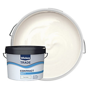 Wickes Trade Contract Matt Emulsion Pure Cotton 10L