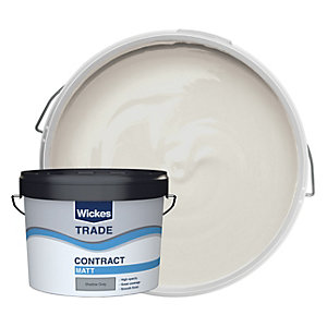 Wickes Trade Contract Matt Emulsion Shadow Grey 10L