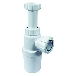 McAlpine A10A Adjustable Bottle Trap  - 32mm