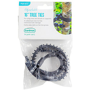 Plantpak Tree Ties 450 x 25mm 4 pack