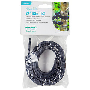 Plantpak Tree Ties 600 x 25mm 4 pack