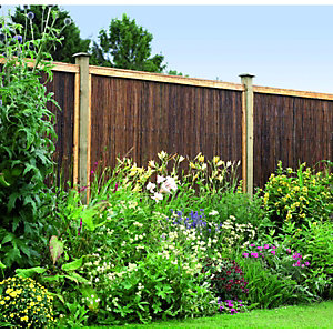 Wickes Framed Willow Screening Panel - 1.83 x 1.83m