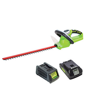 Cordless Hedge Trimmer with 2AH Battery & Charger
