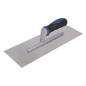 Wickes Stainless Steel Plasterer's Trowel - 14in