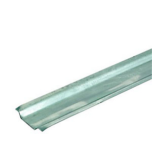 Wickes Galvanised Steel Channelling - 25mm x 2m Pack of 10