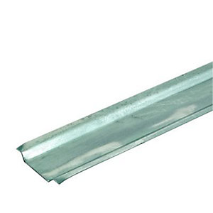 Wickes Galvanised Steel Channelling - 37mm x 2m - Pack of 10