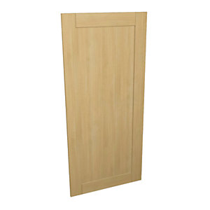 Wickes Tulsa Oak Shaker Appliance Door (A) - 600 x 1319mm