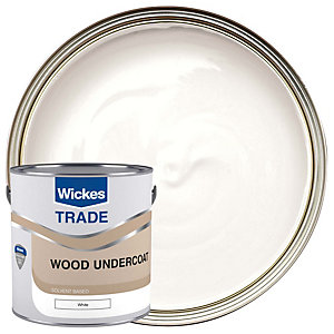 Wickes Undercoat Paint - White 2.5L