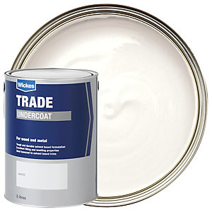 Wickes Undercoat Paint - White 5L