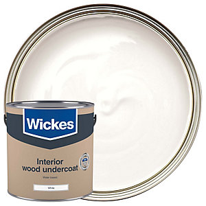 Wickes Water Based Undercoat White 2.5L