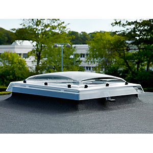 VELUX Clear Polycarbonate Flat Roof Dome