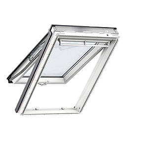 VELUX White Polyurethane Top Hung Roof Window GPU 0060