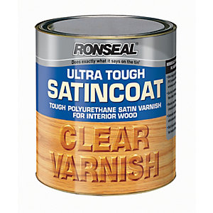 Ronseal Ultra Tough Hardglaze Varnish - Gloss Clear 2.5L