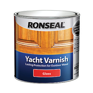 Ronseal Yacht Varnish - Clear Gloss 2.5L