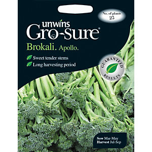Unwins Apollo F1 Broccoli Seeds