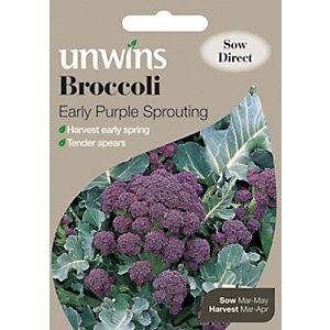 Unwins Early Purple Sprouting Broccoli Seeds