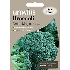 Unwins Green Magic Broccoli Seeds