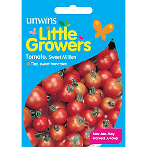 Unwins Little Growers Cherry Tomatoes Seeds
