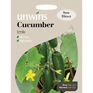 Unwins Mini Iznik F1 Cucumber Seeds