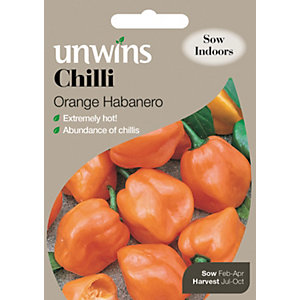 Unwins Orange Habanero Chilli Pepper