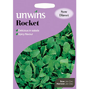 Unwins Sharp n Spicy Rocket Seeds