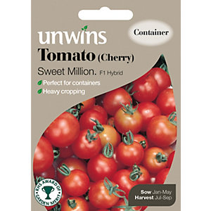 Unwins Sweet Million Cherry Tomato Seeds