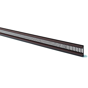 Wickes PVCu Rosewood Ventilated Soffit Strip 2500mm