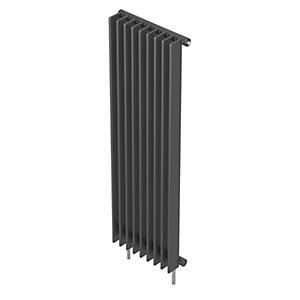 QRL Adagio Vertical Multi-Column Designer Radiator - Anthracite 2000 x 400 mm
