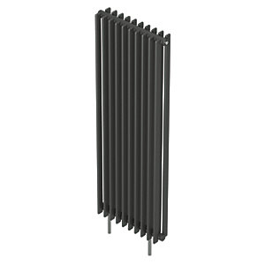 QRL Adagio Vertical Multi-Column Designer Radiator - Anthracite 2000 x 595 mm