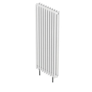 QRL Adagio Vertical Multi-Column Designer Radiator - White 2000 x 490 mm