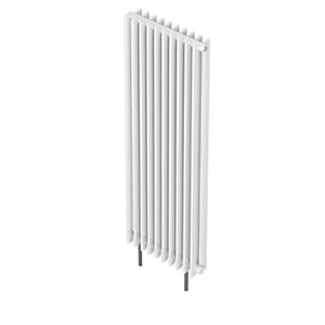 QRL Adagio Vertical Multi-Column Designer Radiator - White 2000 x 630 mm