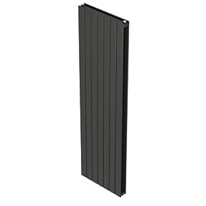 QRL Slieve Double Panel Vertical Designer Radiator - Anthracite 2000 x 433 mm