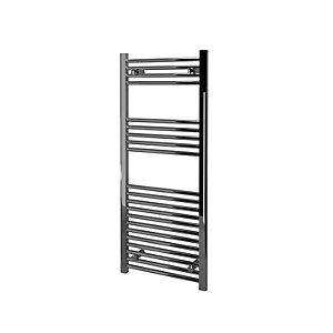 Kudox Straight Towel Radiator - Chrome 500 x 1200 mm
