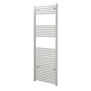 Kudox Straight Towel Radiator - White 600 x 1800 mm