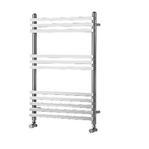 Wickes Invent Square Vertical Designer Towel Radiator - Chrome 1186 x 500 mm